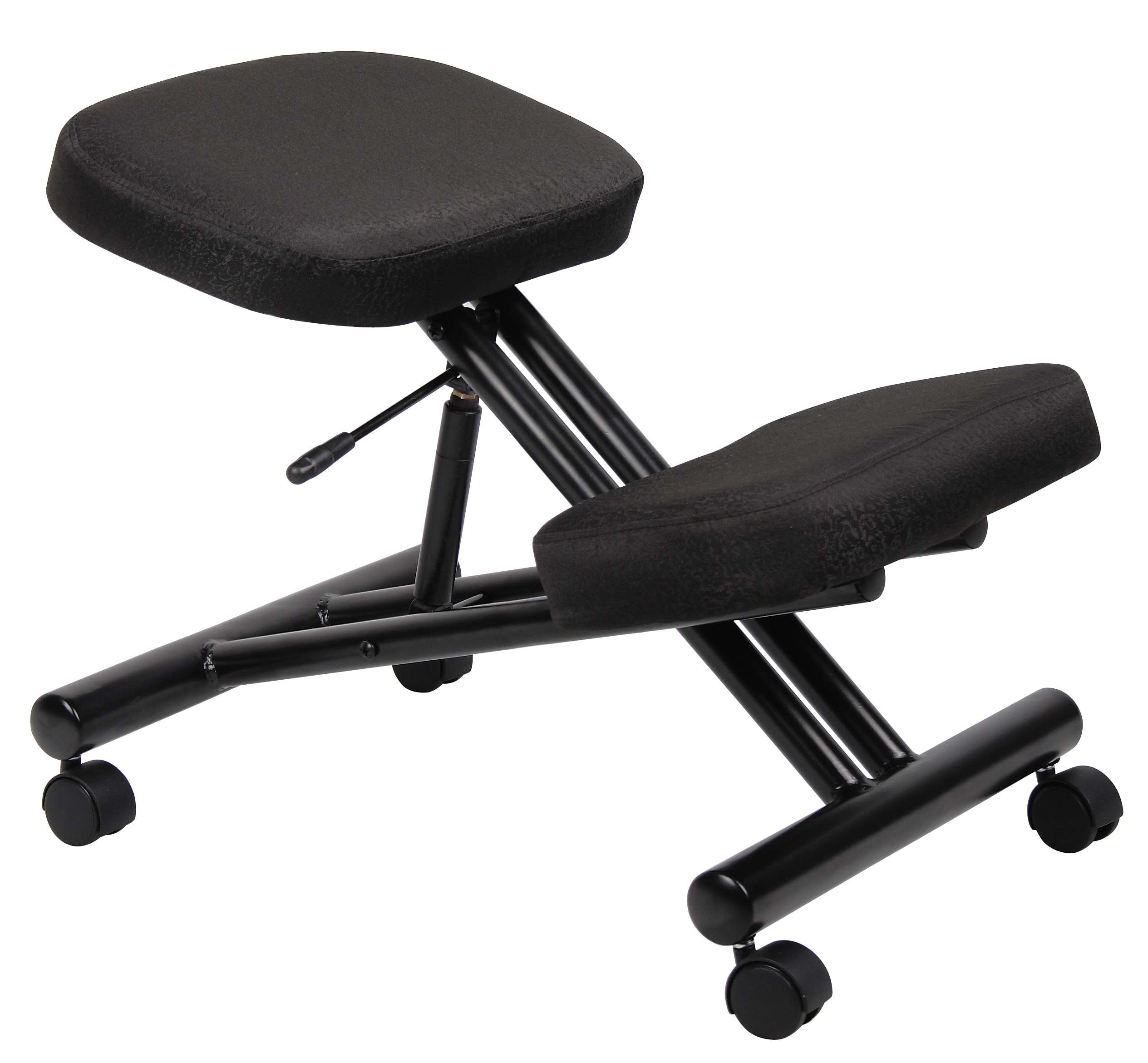 Black Ergonomic Kneeling Stool