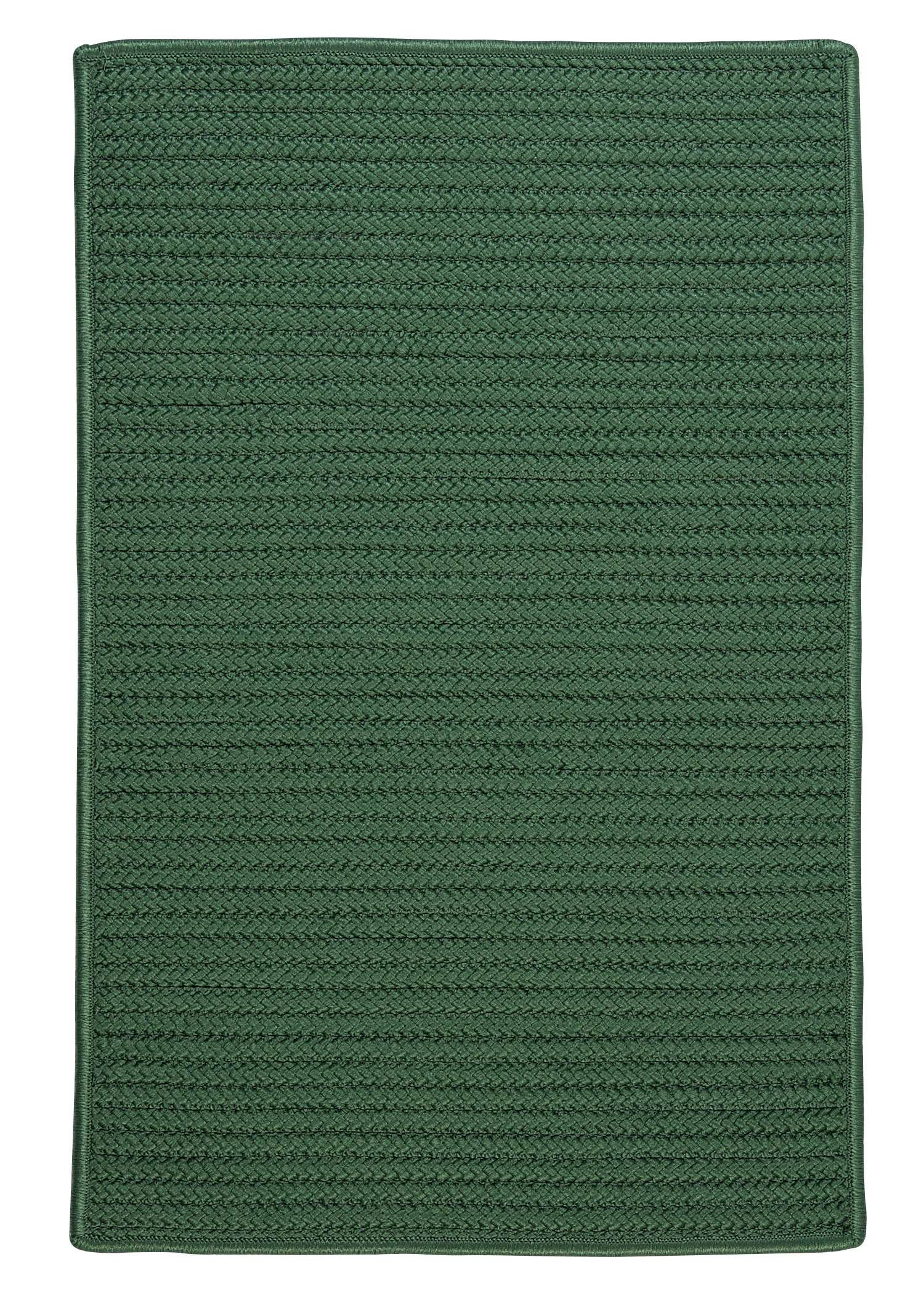 Simply Home Solid Myrtle Green 3'x5' Rectangular Rug
