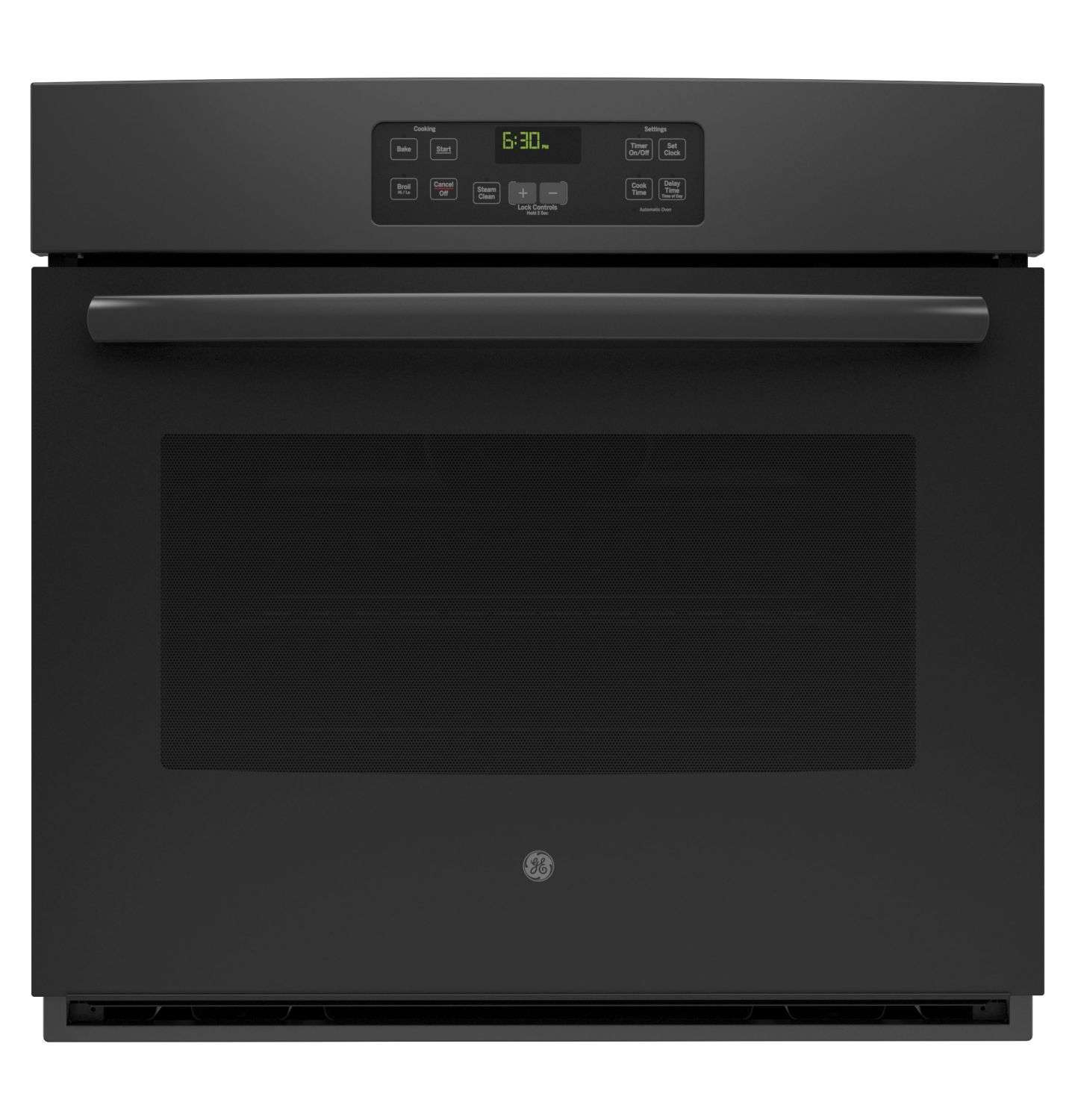 """30"""" Black Electric Single Wall Oven"""