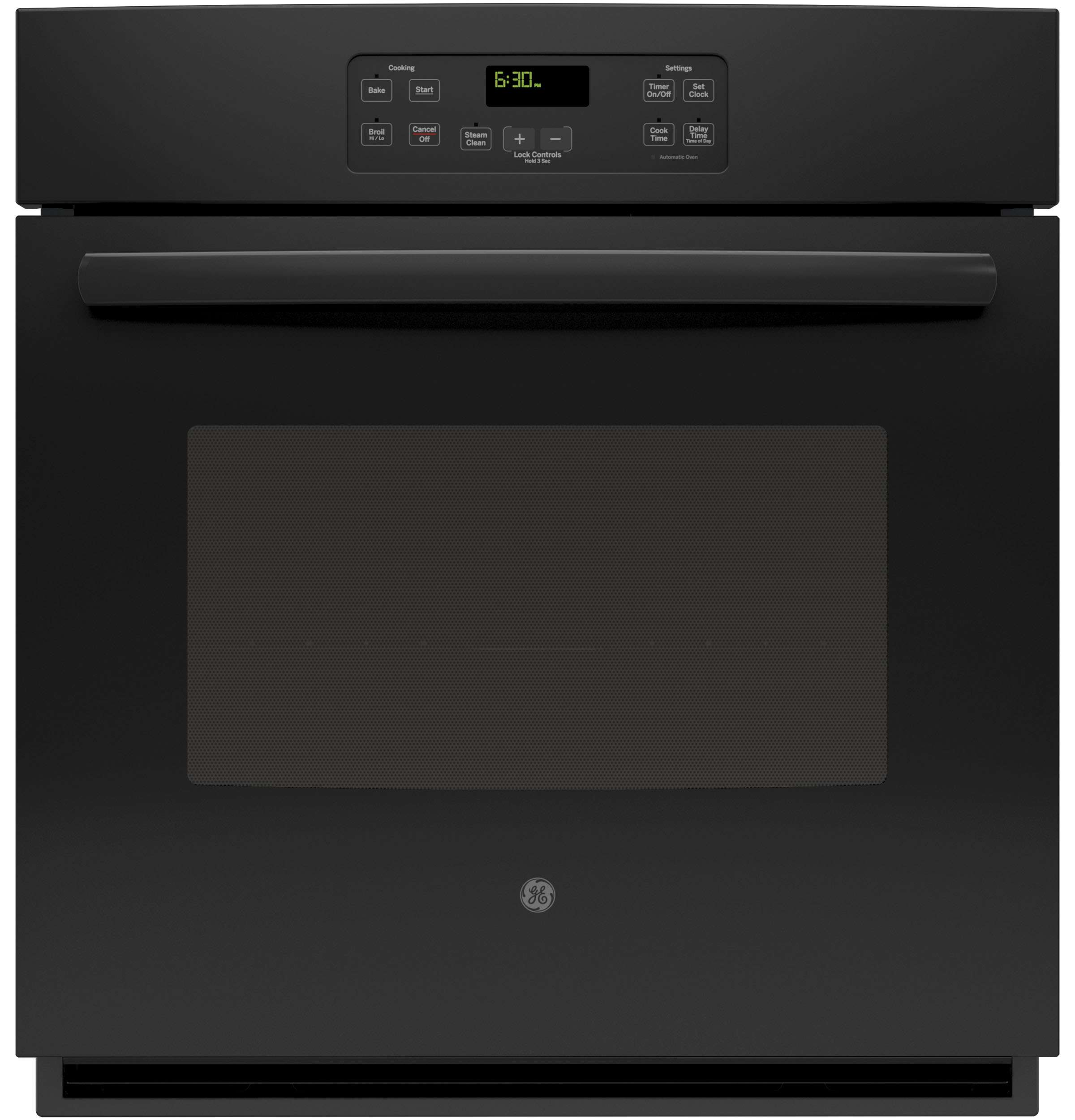 "27"" Black Electric Single Wall Oven"