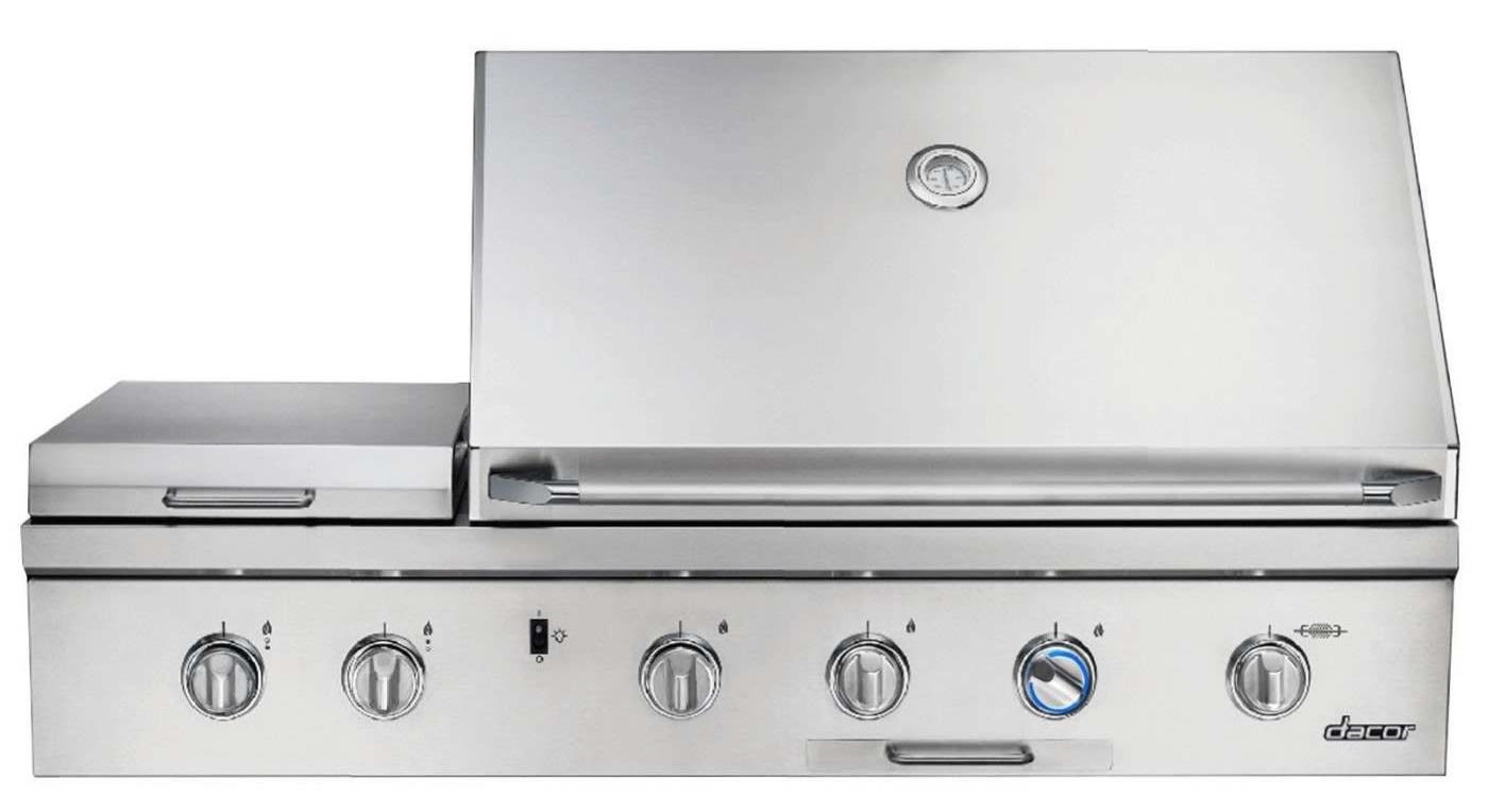 """Discovery 52"""" Stainless Steel Natural Gas Grill"""