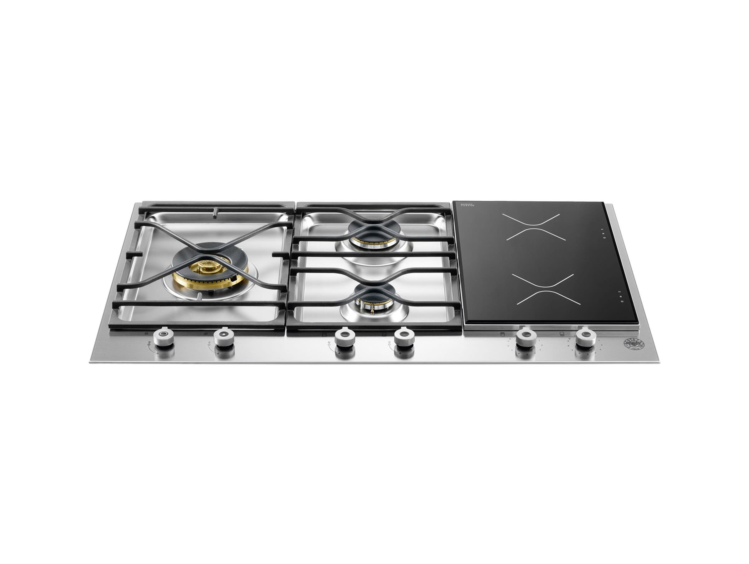 """Professional 36"""" Stainless Steel Induction Cooktop"""