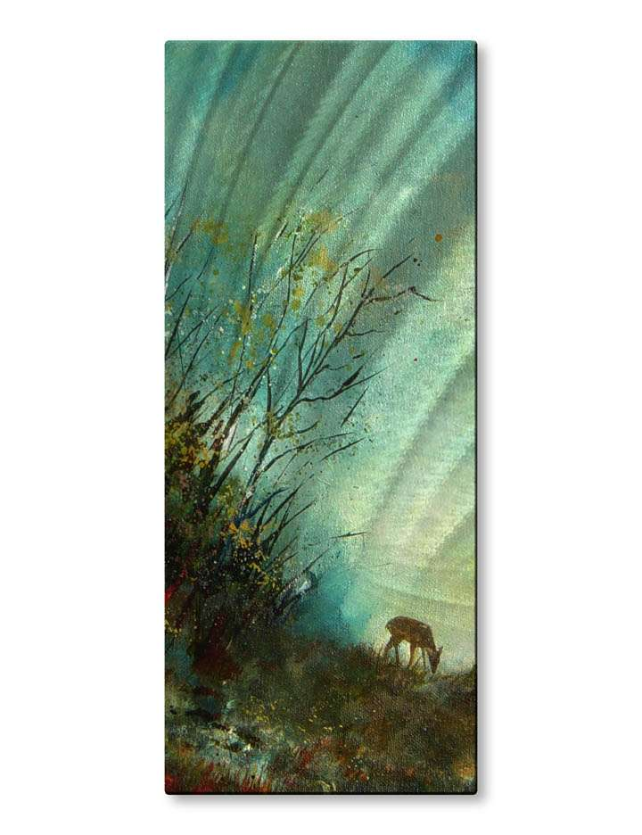 "23.5"" x 10"" ""The Lonely Life"" Metal Wall Art by Pol Ledent"