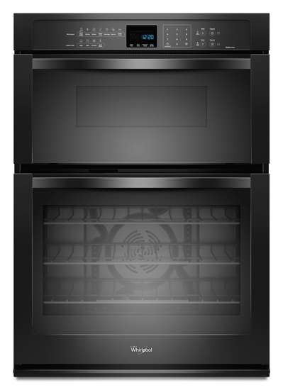 Whirlpool 30 In. Black Combination Wall Oven - WOC95EC0AB
