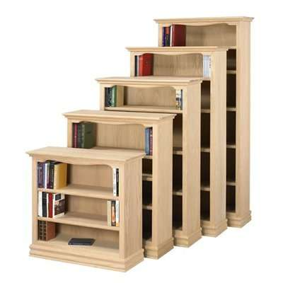 Ae Wood Design Americana Unfinished Oak 84 Bookcase Reviews