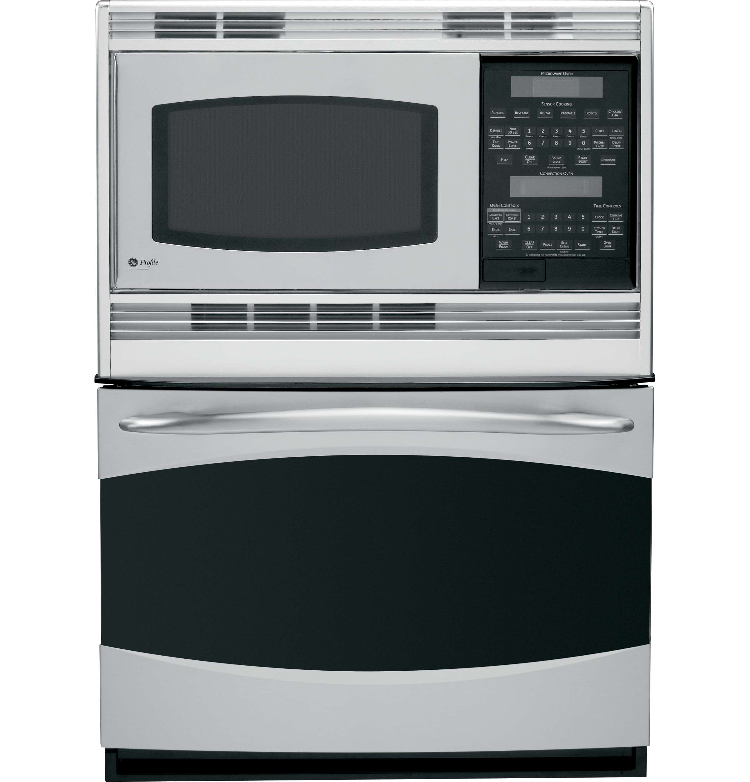 GE Profile 30 In. Stainless Steel Built-In Combination Oven - PT970SRSS  Image 3