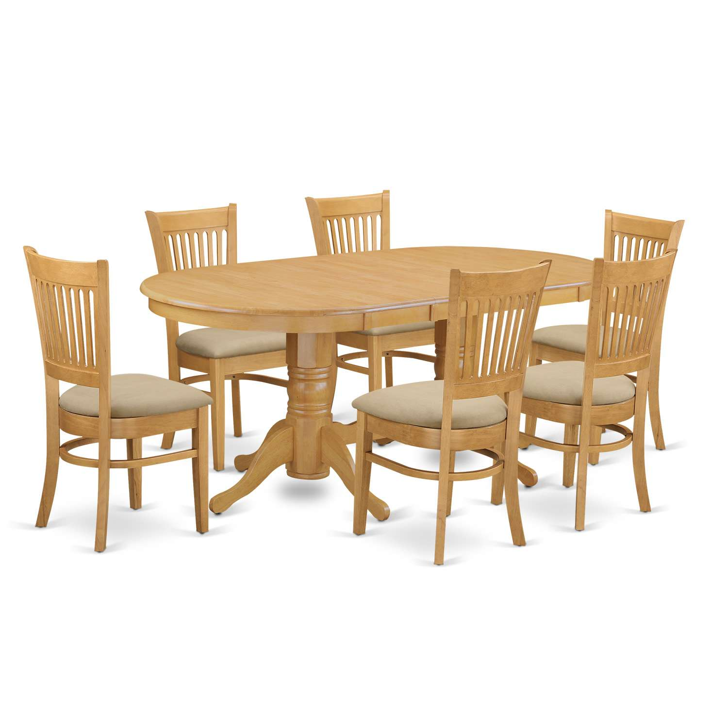 Vancouver 7 Piece Dining Table Set
