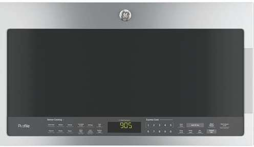 Profile 2.1 Cu. Ft. Stainless Steel Over-the-Range Microwave