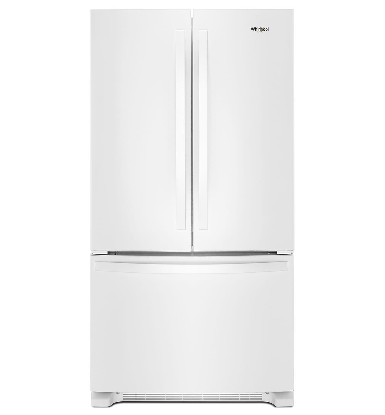 Whirlpool Wrf540cwhw 36 200 Cu Ft White Counter Depth French