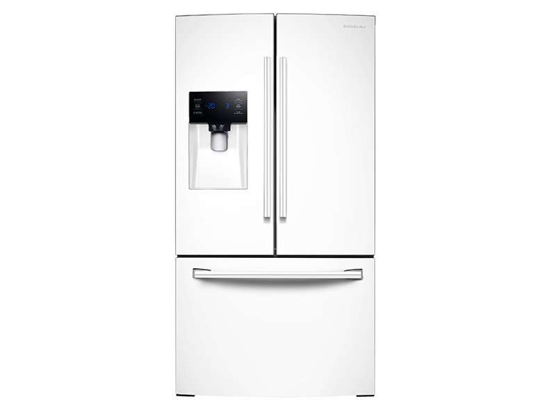 White French Door Refrigerator   Energy Star