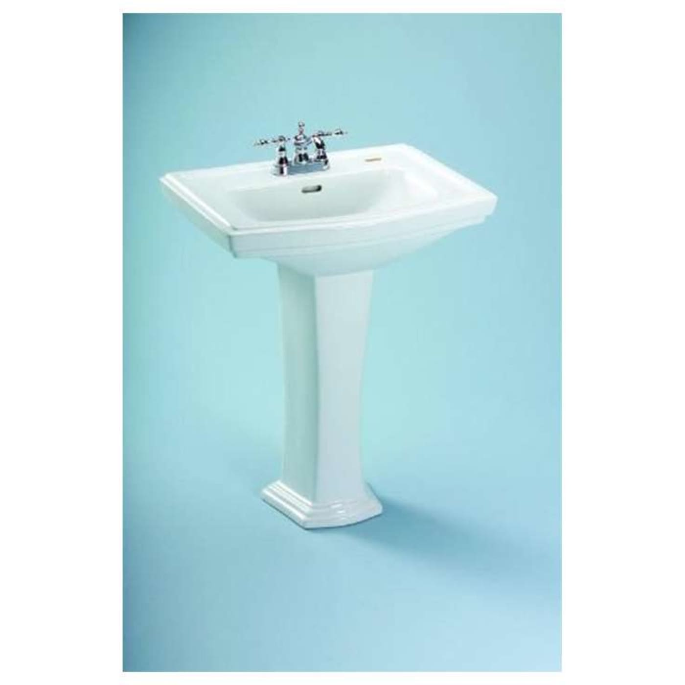 Toto Clayton Pedestal Vitreous China Bathroom Sink LPT780.8#11 ...