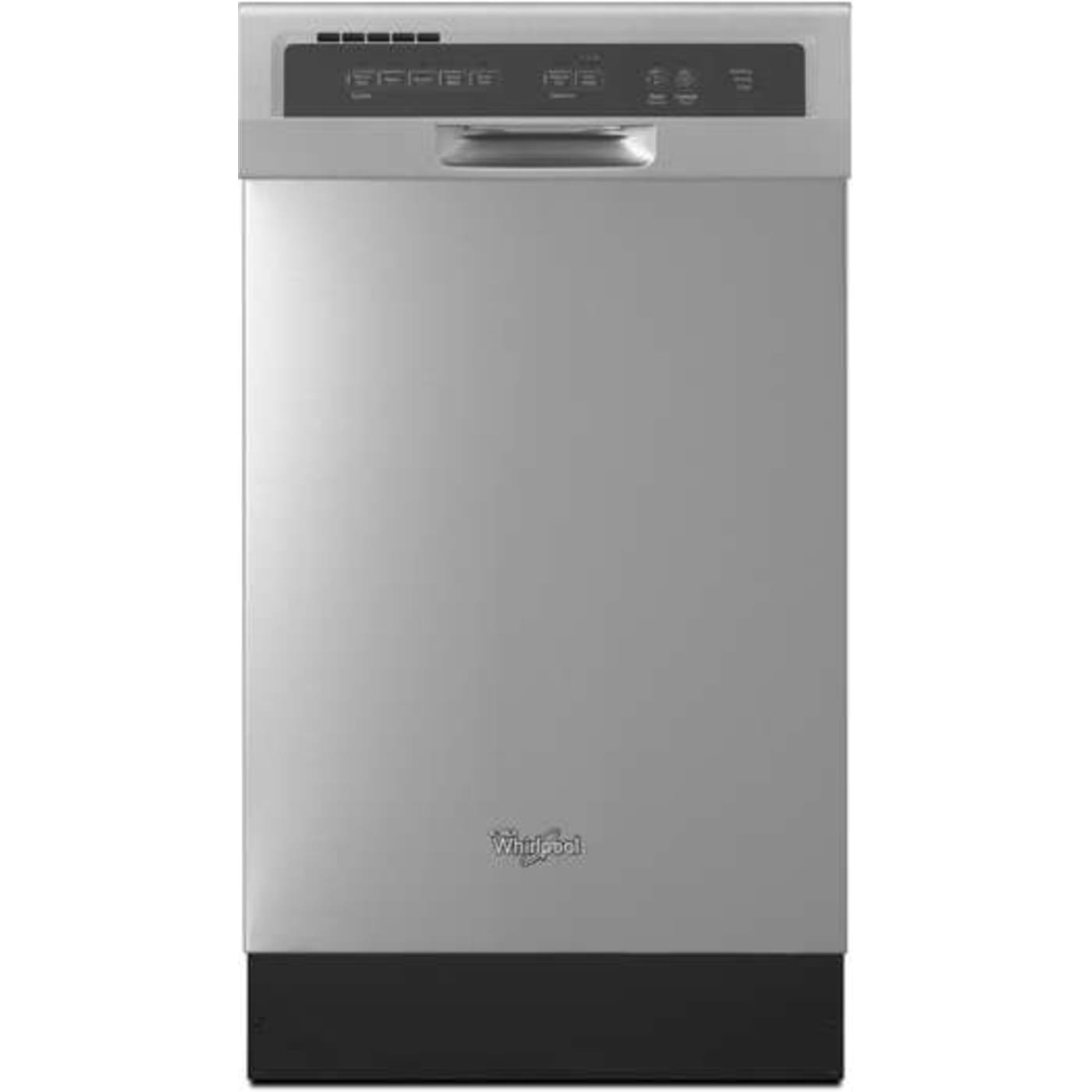 Whirlpool Wdf518saaw Whirlpool 18 In 57 Decibel Built In: Full Console Dishwashers