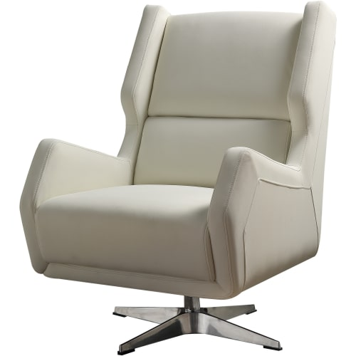 Phenomenal Faux Leather Accent Chairs Goedekers Page 3 Theyellowbook Wood Chair Design Ideas Theyellowbookinfo