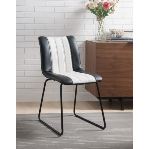 Outstanding Faux Leather Accent Chairs Goedekers Theyellowbook Wood Chair Design Ideas Theyellowbookinfo