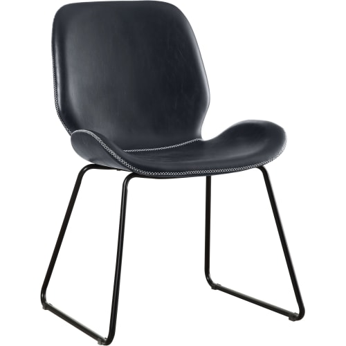 Brilliant Leather Accent Chairs Goedekers Pabps2019 Chair Design Images Pabps2019Com