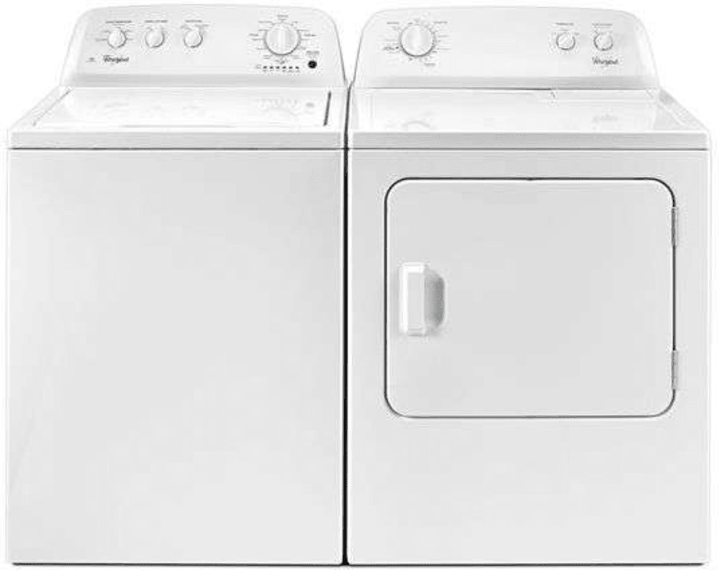 Wtw4616fw By Whirlpool Top Load Washers Goedekers Com
