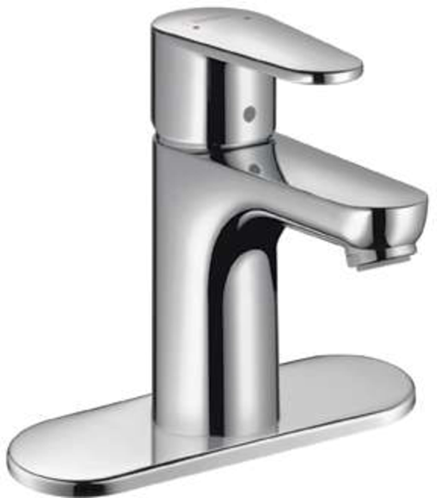 Hansgrohe 31612821 Talis E2 Single Hole Faucet Brushed