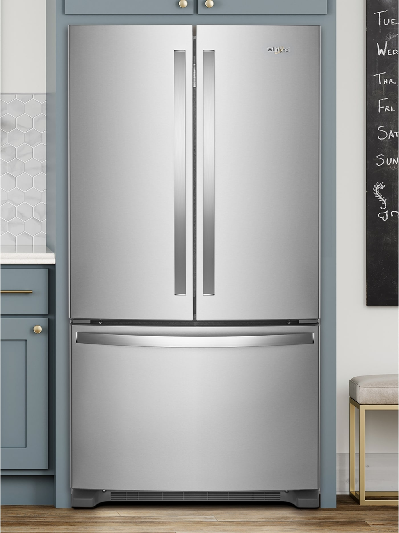 Wrf535swhz By Whirlpool French Door Refrigerators