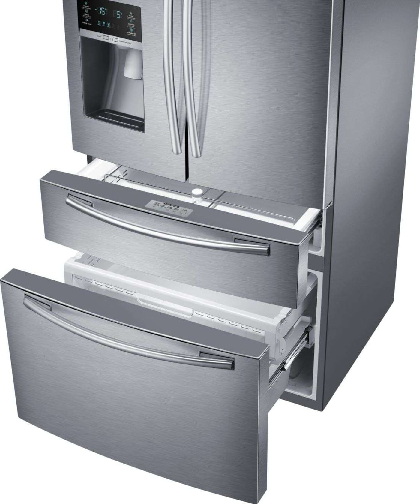 Samsung Rf25hmedbsr 33 Quot 24 7 Cu Ft Stainless Steel