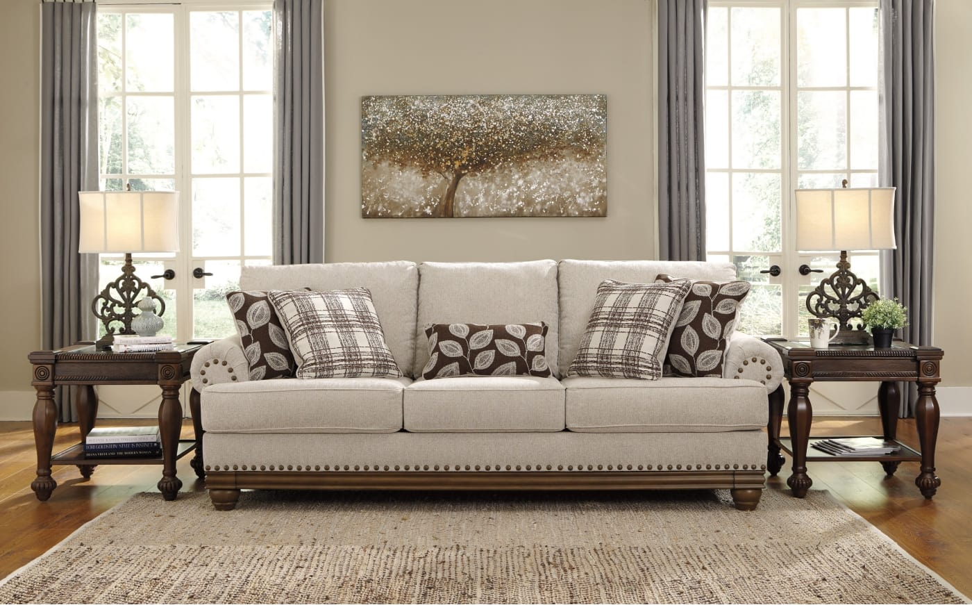 Signature Design By Ashley Harleson Wheat 2 Piece Living
