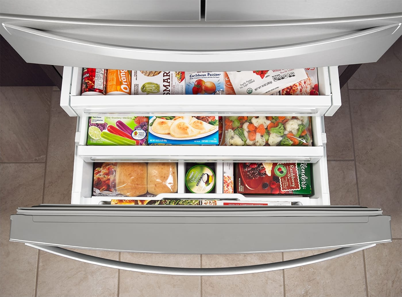 Wrx986sihz By Whirlpool French Door Refrigerators
