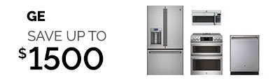 REFRESH YOUR KITCHEN WITH GE CAFE & SAVE UP TO $1500!!!