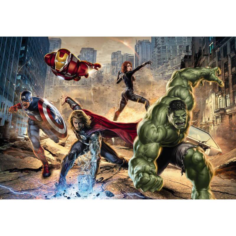 Komar Marvel Avengers Street Rage Wall Mural   8 432 Part 61