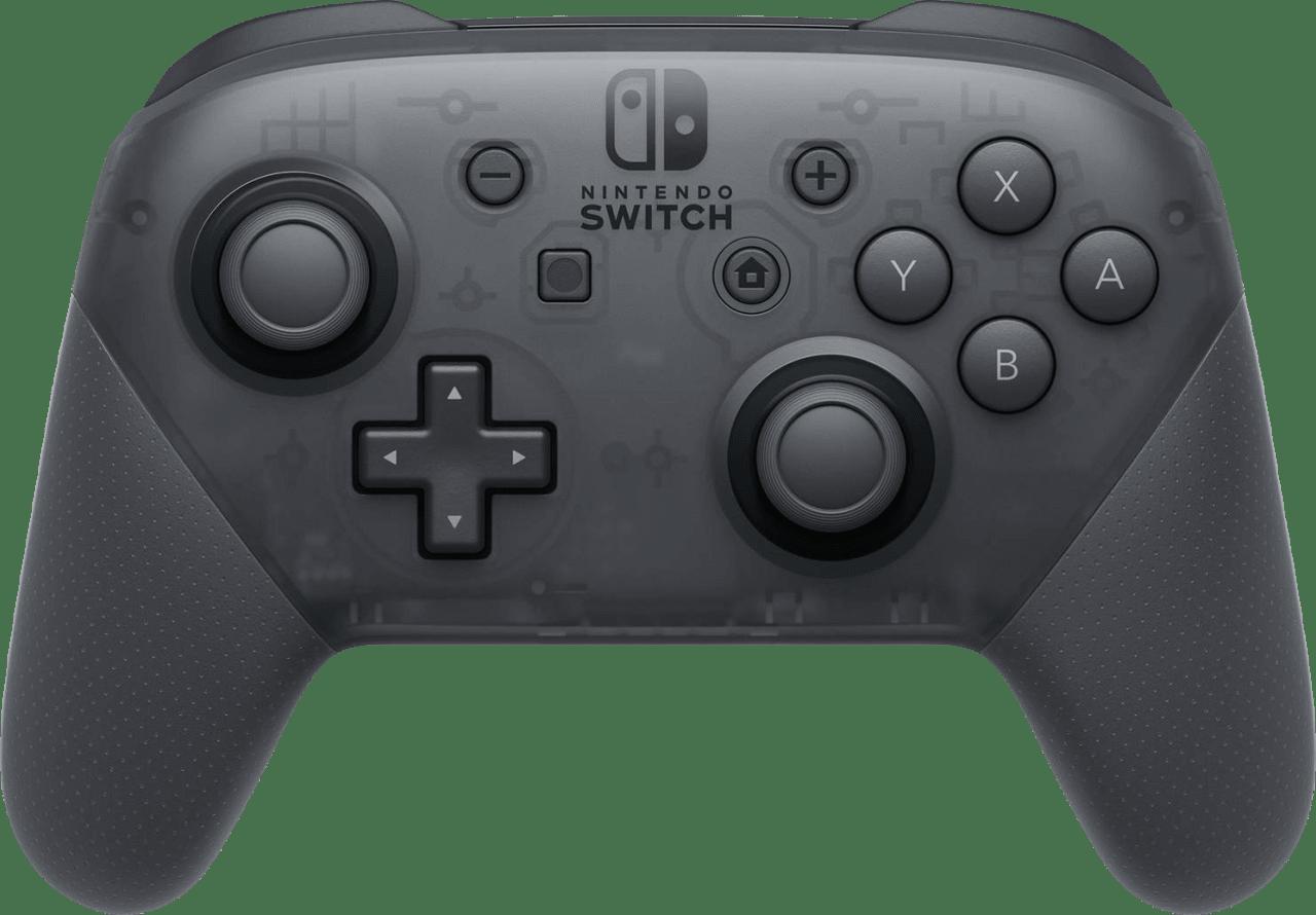 Grey Nintendo Switch Pro Controller.1