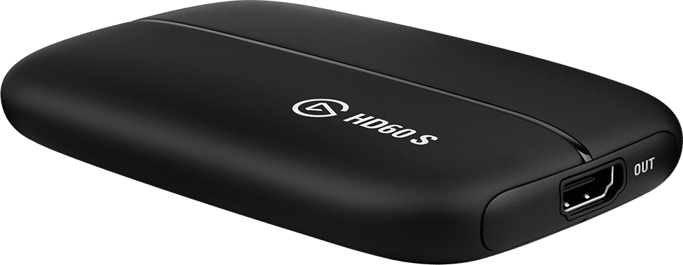 Schwarz Elgato Game Capture HD60S.1