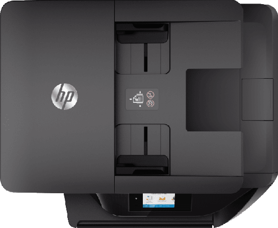 White HP All-in-One OfficeJet Pro 6970.3