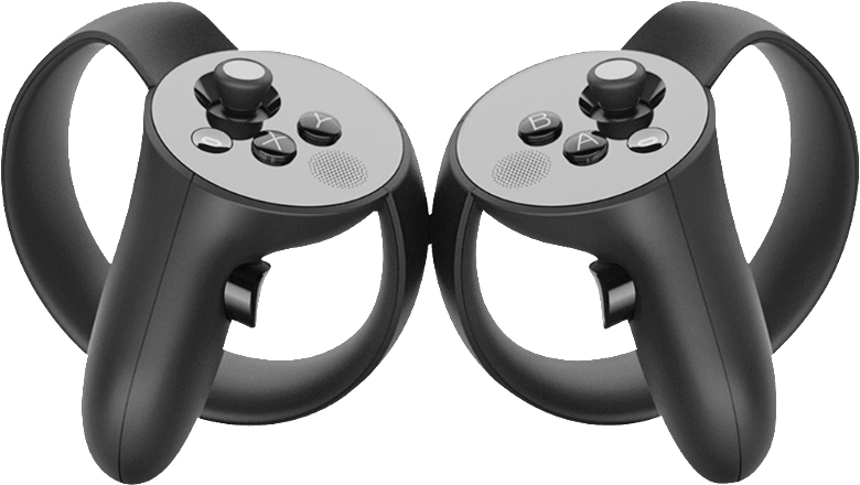 White Oculus Rift Touch Controller.1