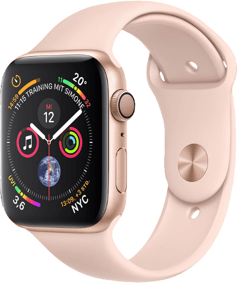 Gold & Pink Apple Watch Series 4 GPS, 40mm.2