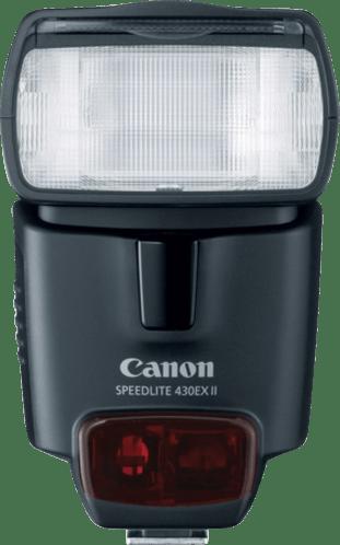 Black Canon Flash Speedlite 430EX II.1