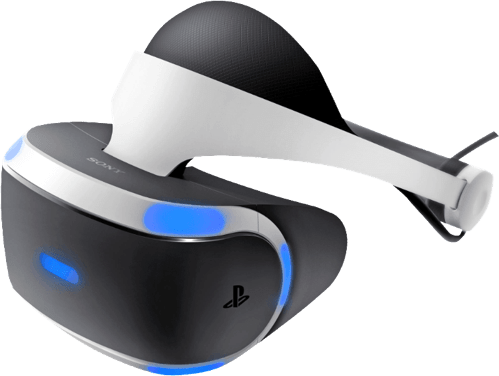 Weiß Sony PlayStation VR + Kamera.2
