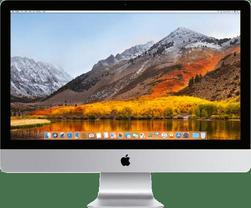"""Silber Apple iMac 27"""" Retina 5K.1"""