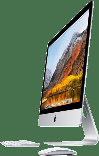 "Silver Apple iMac 27"" Retina 5K.2"