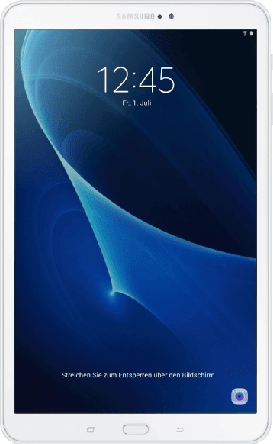 "White Galaxy TAB A 10.1"".1"