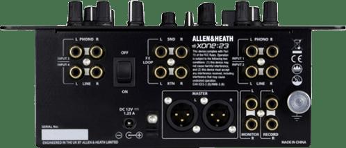 Schwarz Allen & Heath DJ Mixer Xone:23.1