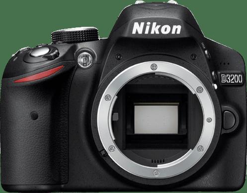 Black Nikon D3200.1