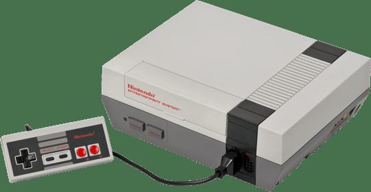 Gray Nintendo NES.1