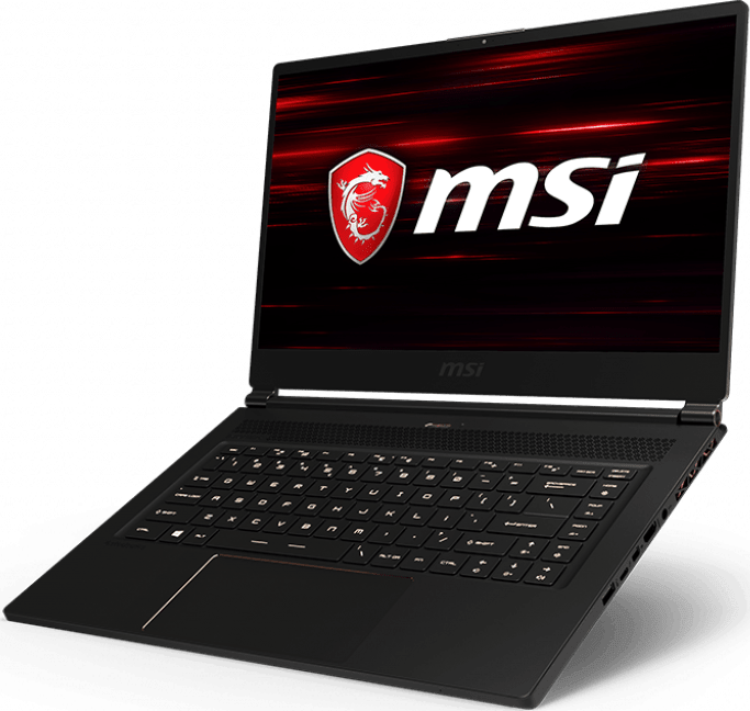 Black MSI GS65 8SF-057 Stealth.2