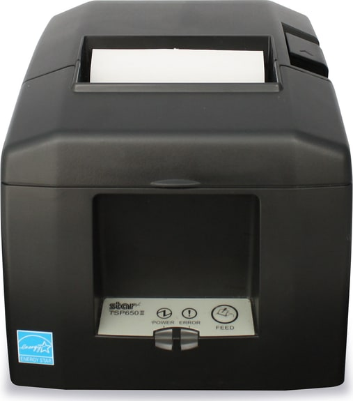 Black Star Receipt Printer TSP654IIBI.1
