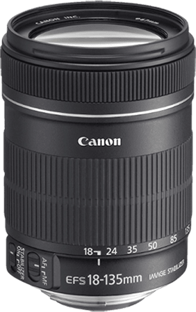 Canon  EF-S 18-135 mm f/3.5-5.6, IS.1