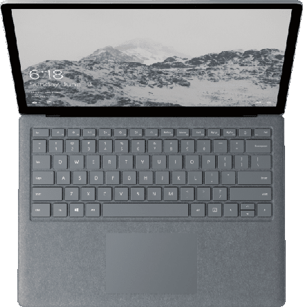 Gray Microsoft Surface Laptop.2