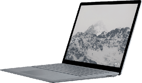 Gray Microsoft Surface Laptop.3