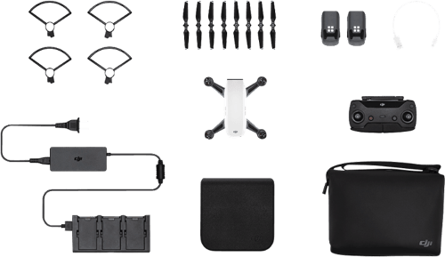 White DJI Spark Fly More Combo.5