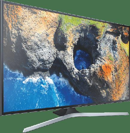 "Black Samsung 55"" TV MU6179.2"