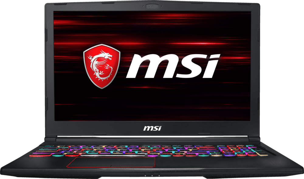 Black MSI GE63 8RE-222DE Raider.1