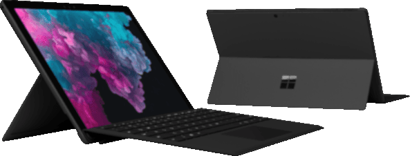 Black Microsoft Surface Pro 6.2