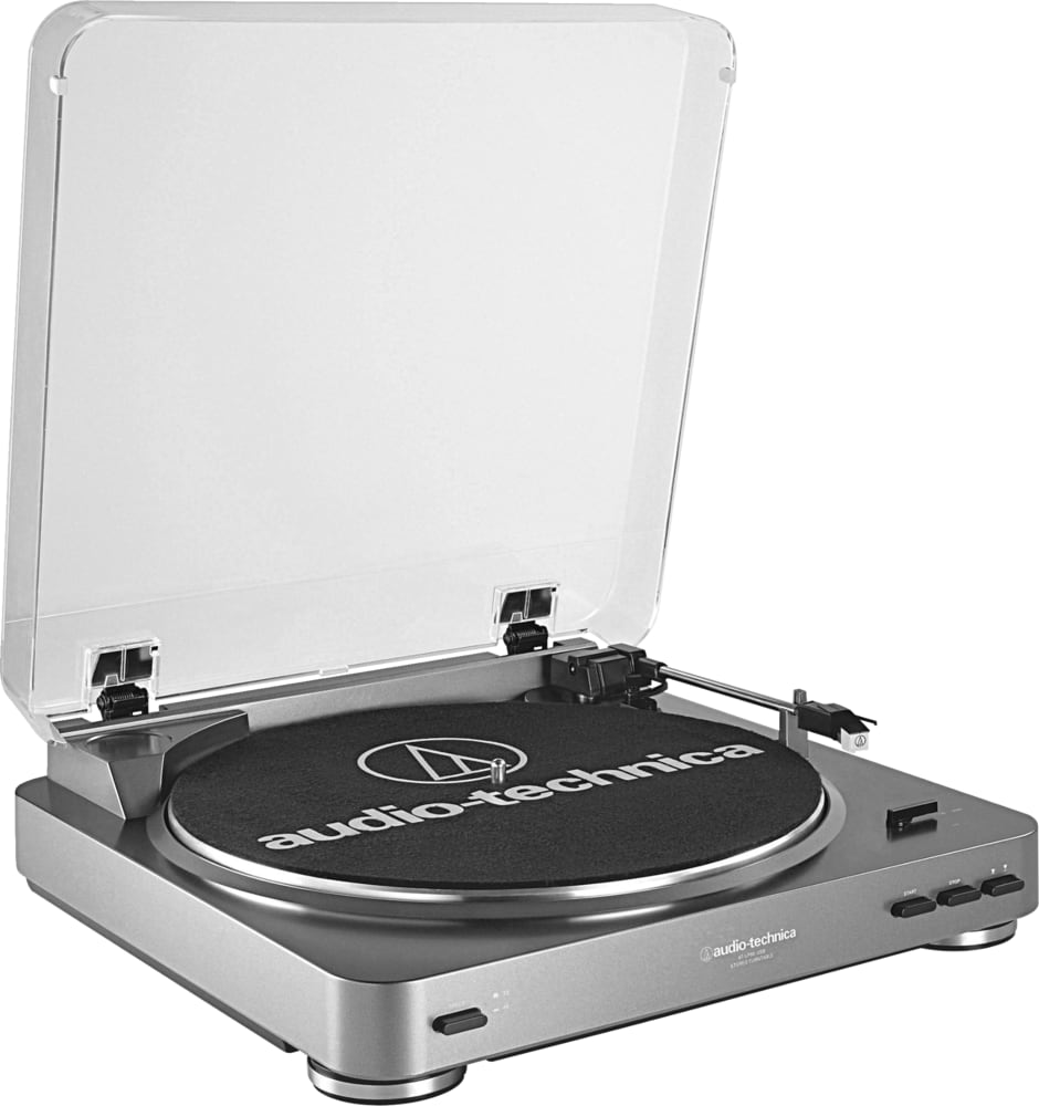 Silver AUDIO-TECHNICA AT-LP 60 USB.1
